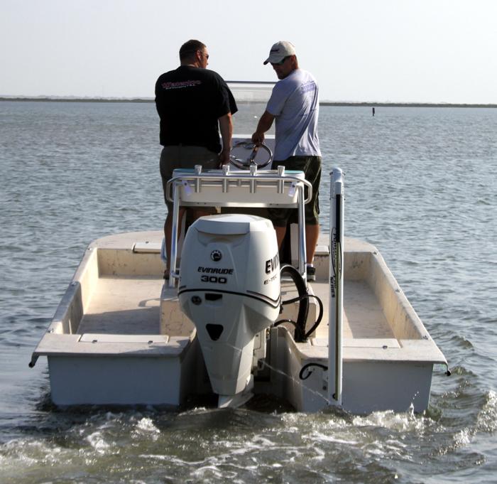 240 SVT Tran Sport Shallow Water Bay Fishing Boat ...